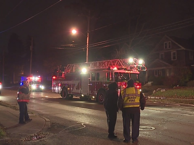 Akron church holds vigil for family who died in Tallmadge Ave. house fire
