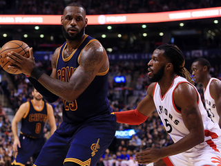 Cavs overcome Toronto Raptors 116-112