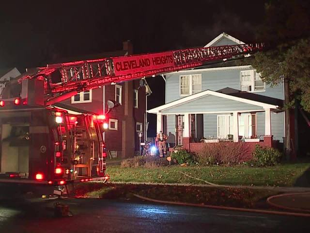 Cleveland Heights fire