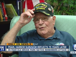Pearl Harbor survivor's memories still fresh