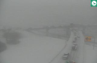 Snow snarles traffic across region