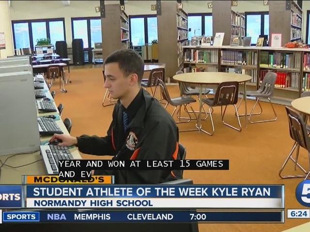 Student Athlete of the Week: Kyle Ryan