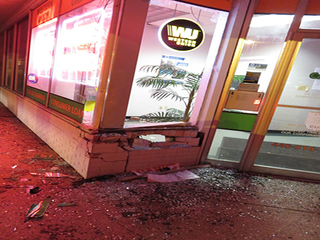 ATM stolen in smash-and-grab