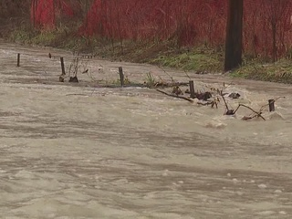 Communities warn about flooding and rising water