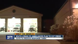 South Lorain Co. ambulances cutting crews