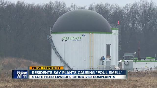 Odor complaint lawsuit against biogas company leading to smell reduction efforts