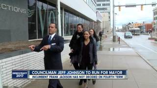Jeff Johnson first to enter race for Mayor