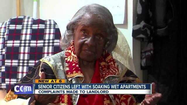 Senior Citizen-s apartment woes
