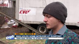 Homeowner turns gun on 14-year-old intruder