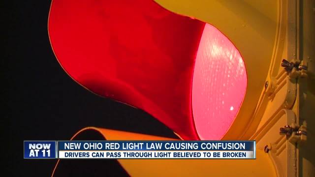 What drivers need to know about Ohio-s new red light law