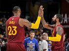 Lebron and Kyrie to start in NBA All-Star game