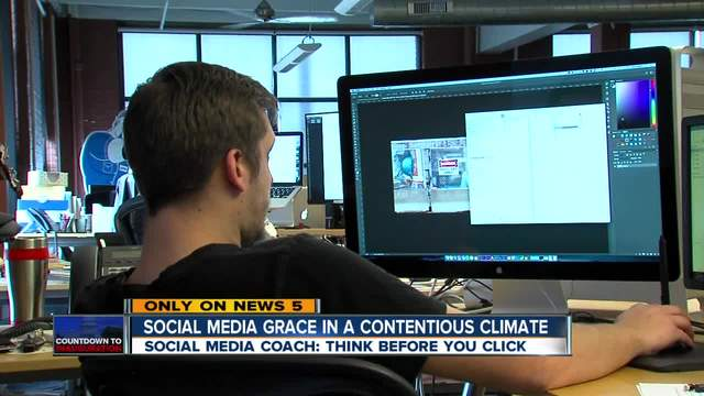 Social media grace in a contentious climate