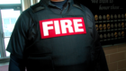 Firefighters now wear bulletproof vests