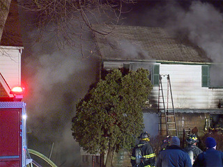 House fire in Cleveland overnight