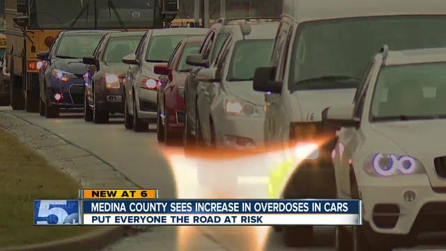 Drivers overdosing behind the wheel on the rise in Medina County