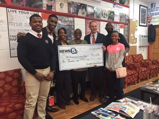 News 5 gives $10k to Barbershop Literacy Project