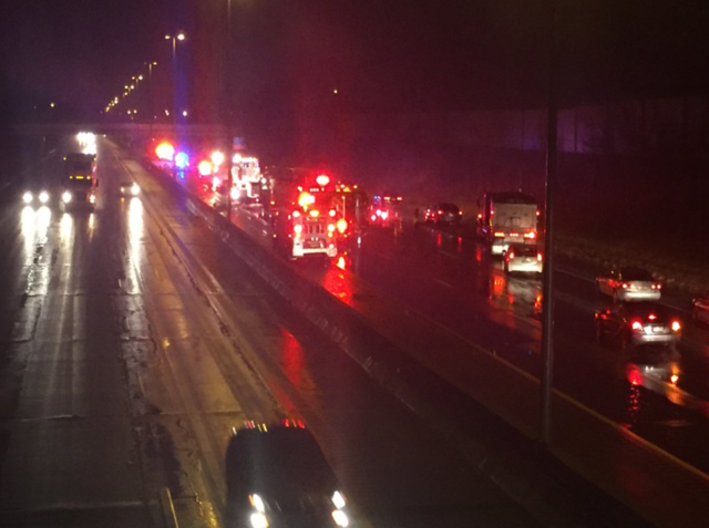 Cleveland officer fatally struck by car on I-90