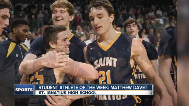 Student Athlete of the Week- Matt Davet