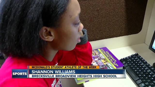 Student Athlete of the Week- Shannon Williams