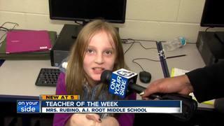 Teacher of the Week: Jodi Rubino
