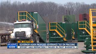 Kasich goes again after increased severance tax