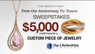From Our Anniversary to Yours Sweepstakes