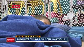 Demand for overnight child care on the rise