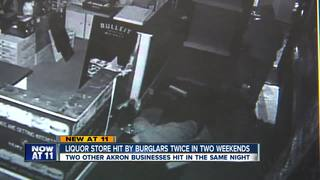 Suspect gets knocked out during Akron robbery