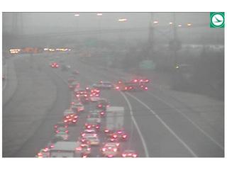 Crash blocks right two lanes on I-271 at US-422