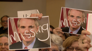 Portman, Brown no-shows at Cleveland town hall