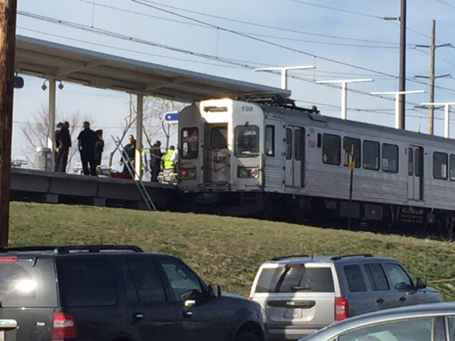 One person dies after being hit by RTA train