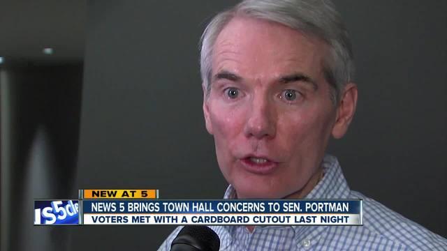 Portman responds to town hall criticism