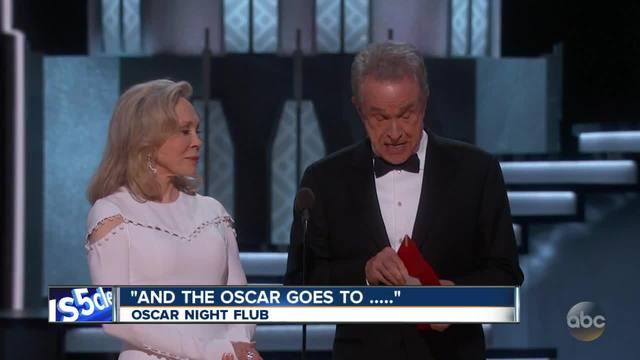 Oscars mix-up