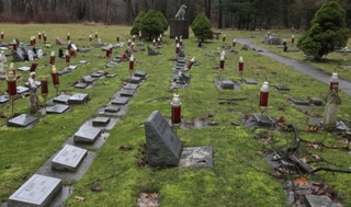 Portage Co. amputee blocked from cat's grave