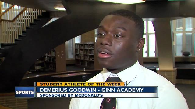 Student Athlete of the Week- Demerius Goodwin