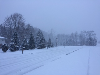Snowfall totals in Northeast Ohio March 3