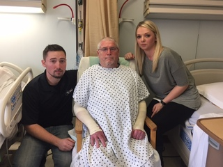 Man who lost wife & son in explosion tells story