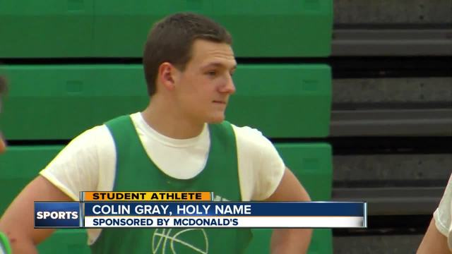 Student Athlete- Colin Gray