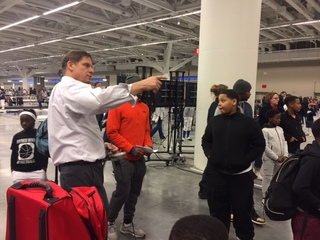 CLE youth participate in USA Fencing Clinic