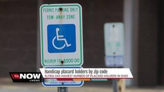 Ohio handicap placard holders by zip code