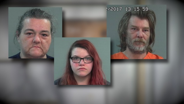 Home condemned after veteran's corpse found, trio arrested