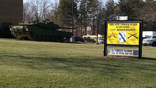 Humvee stolen from National Guard in Stow