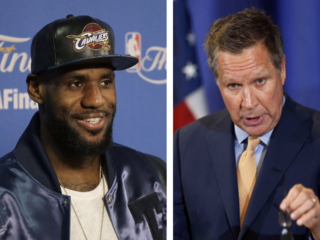 LeBron, Kasich among 'World's Greatest Leaders'