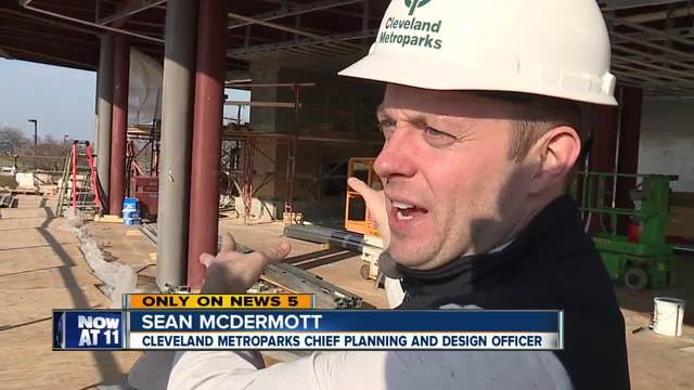 Major renovations underway at Edgewater Park