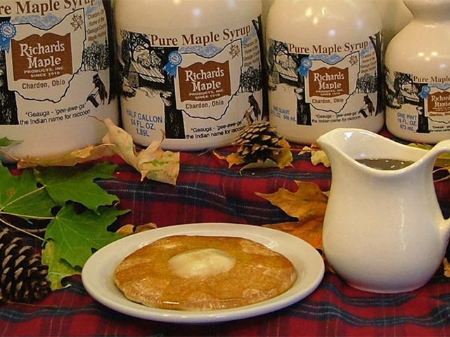 Richards Maple Products keep the syrup flowing because the sap is still…