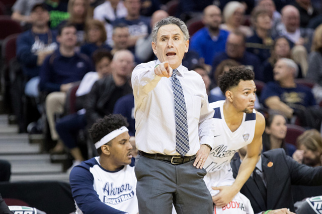 Longtime Akron coach Dambrot taking over at Duquesne