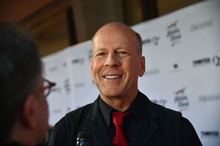 Actor Bruce Willis films latest movie in CLE