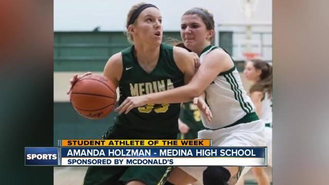 Student Athlete of the Week- Amanda Holzman