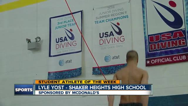 Student Athlete of the Week- Lyle Yost