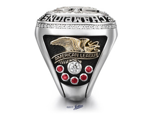 Cleveland Indians receive AL Championship rings